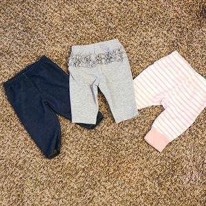 Baby Girl Bundle Carters Pants size 0-3